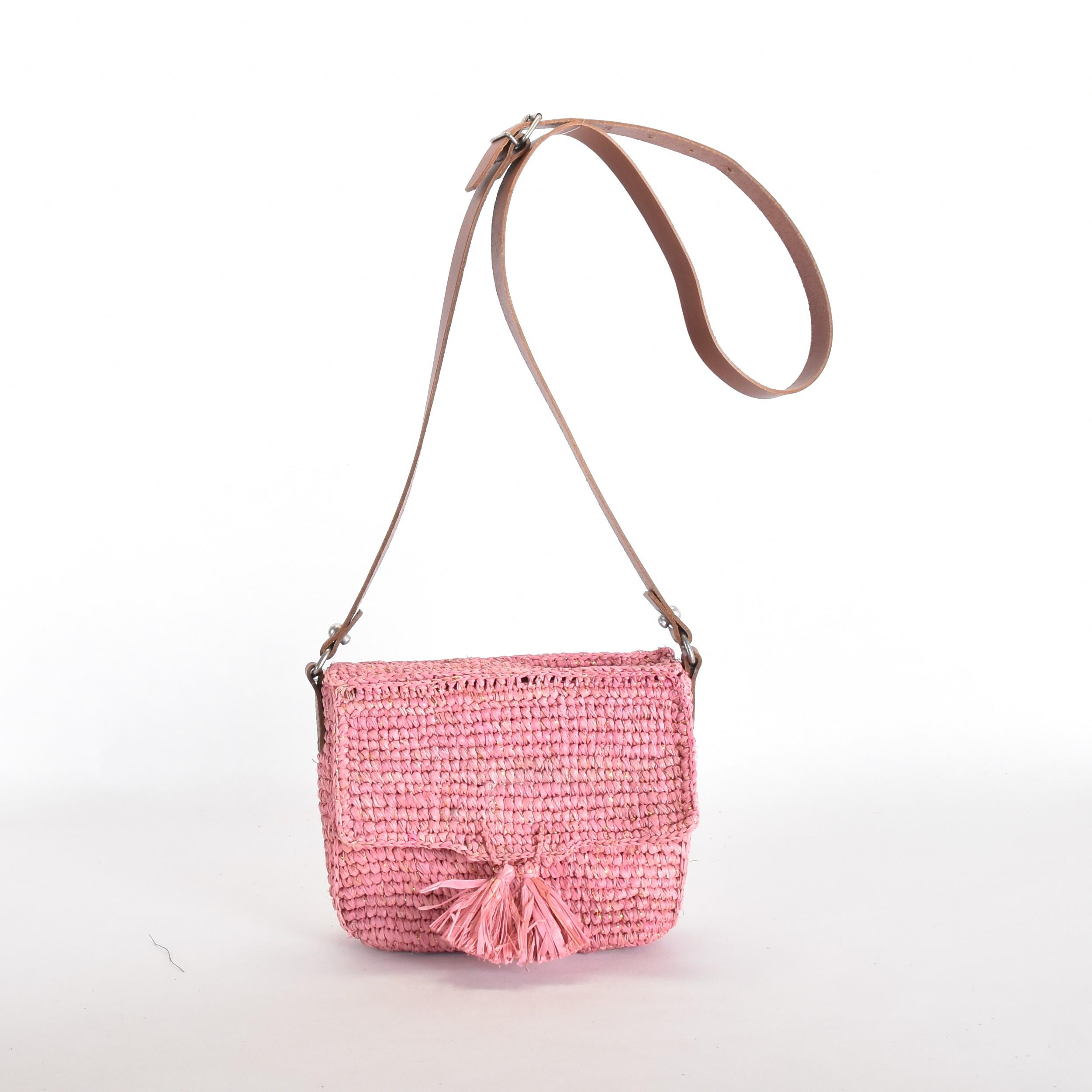 Estellon Annie Rafia Pink 1