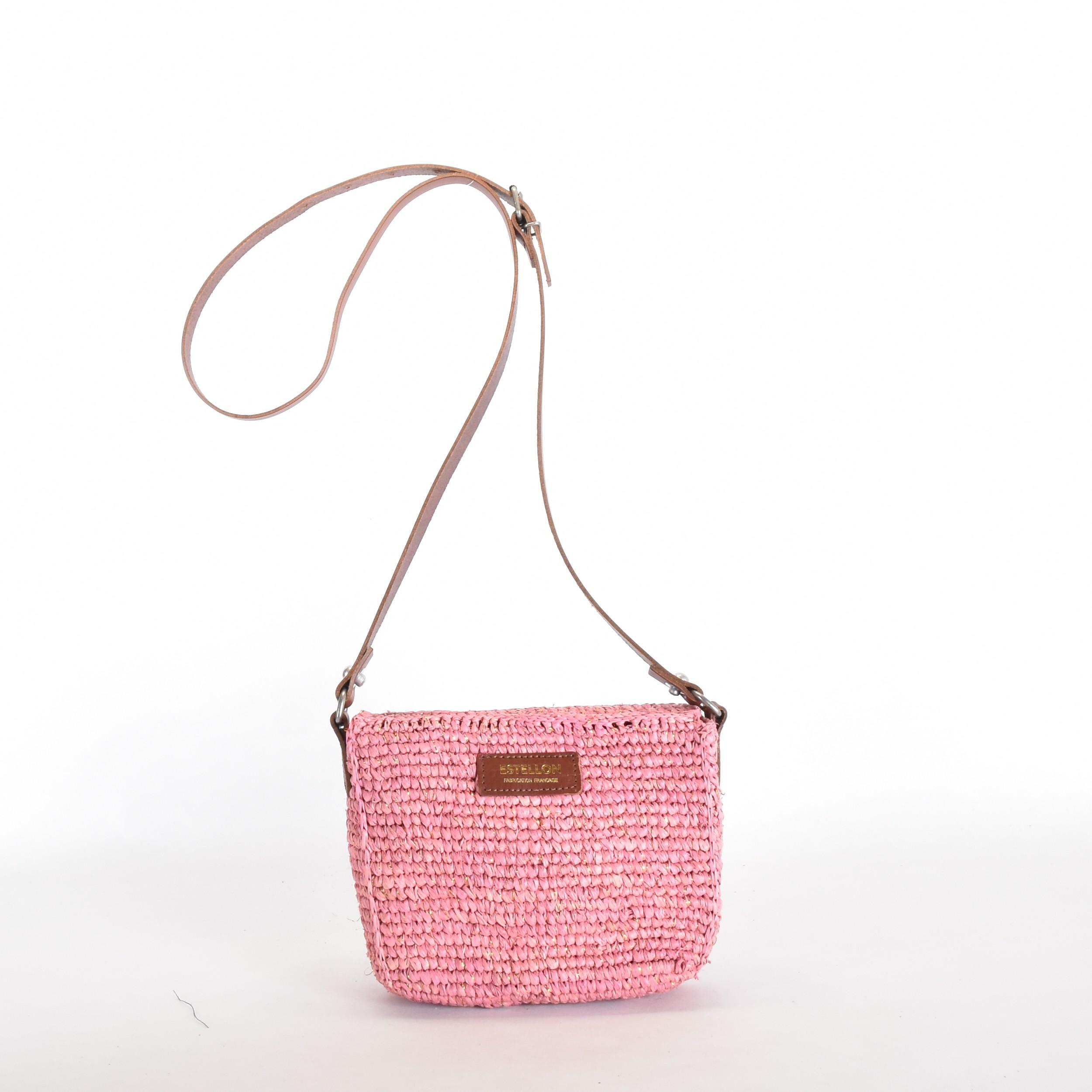 Estellon Annie Rafia Pink 2