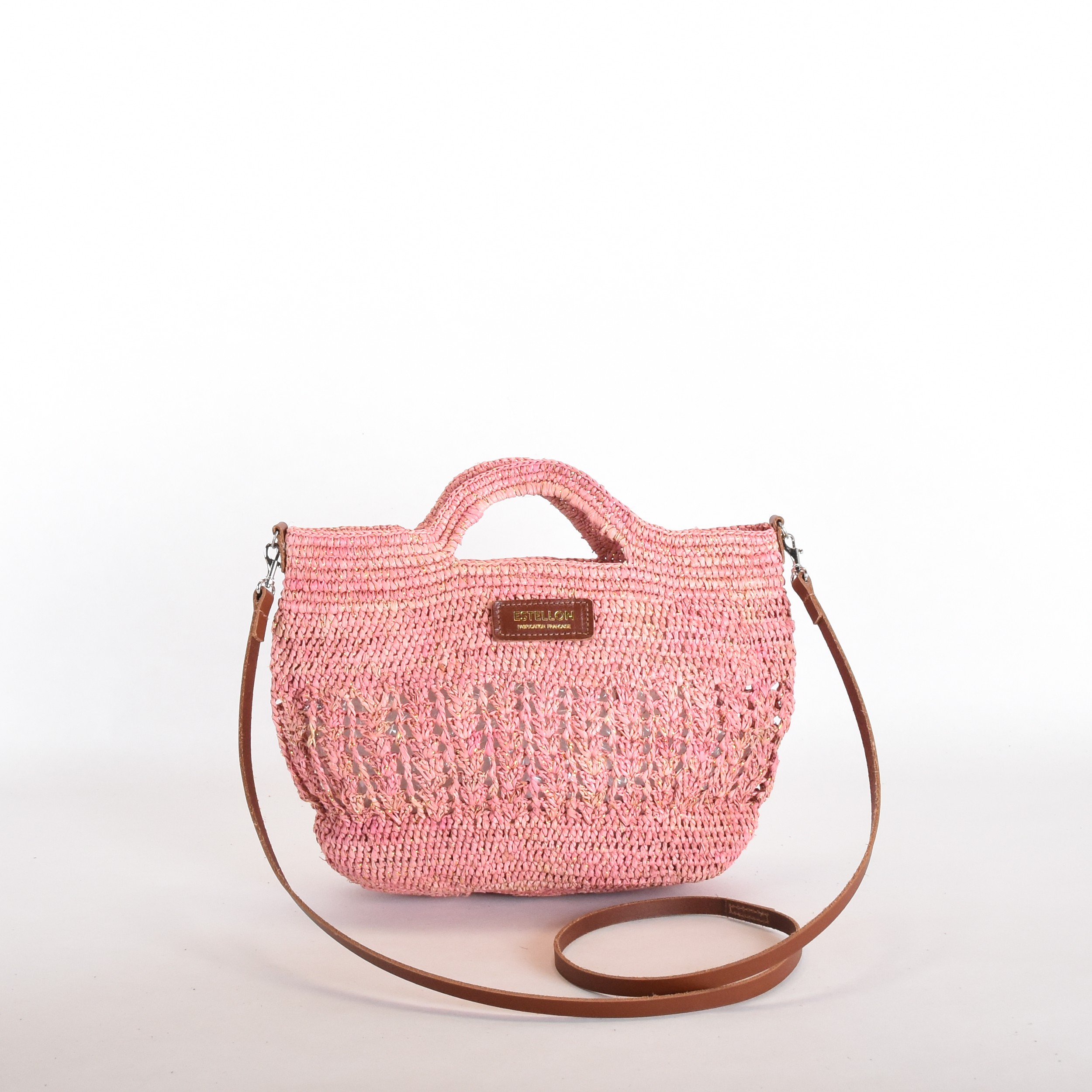 Estellon Suzane Rafia Pink 1